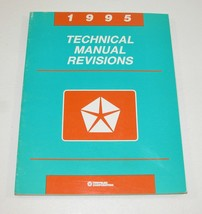 1995 Chrysler Dodge Plymouth Dealer Technical Manual Revisions USED - $7.87