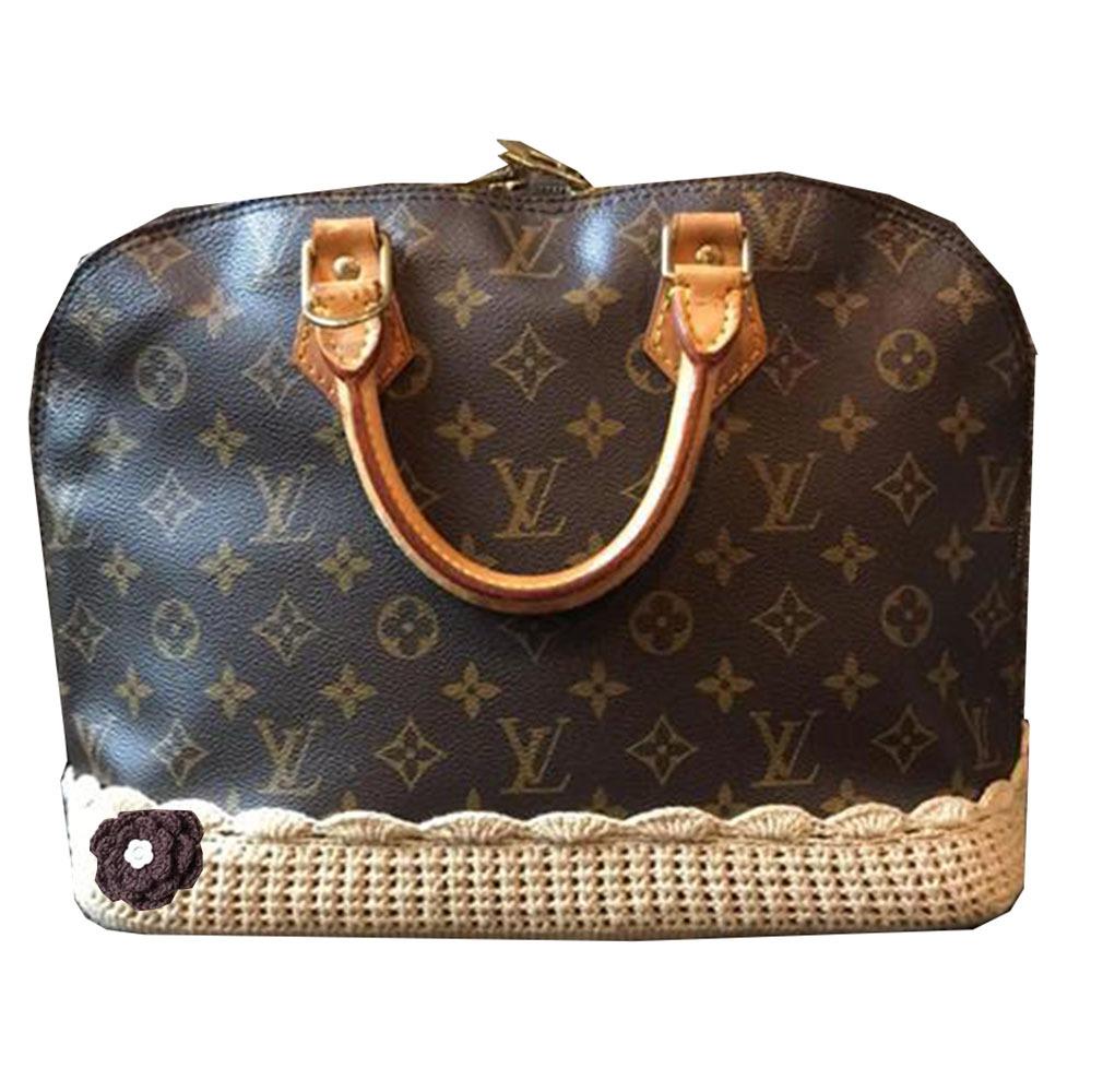 Covers For Louis Vuitton Alma Pm Handbag Purse Base Light Khaki 50 00