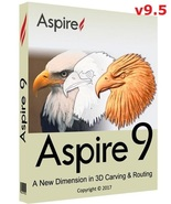 Vectric Aspire 9.5 with Cliparts (32-bit & 64-bit) | Software - FAST DELIVERY - $69.99