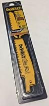 """Dewalt DW4802 6"""" x 6 TPI Taper Back Bi-Metal Wood Reciprocating Blades 5 Pack - $5.94"""