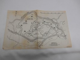 1942 World War II SITUATION MAP REGIMENTAL TRAIN BIVOUAC Guide - $19.79