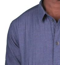 KR3W California Mens krew Motorbreath Lined Reversible Indigo Denim Shirt NWT image 2