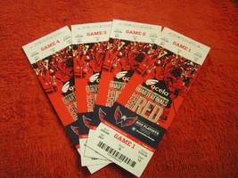 NHL 2012 Washington Capitals Stanley Cup Playoff Unused Full Ticket Stubs - $2.47