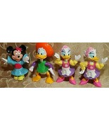EPCOT CENTER LOT OF DISNEY CHARACTERS INCLUDING DONALD&DAISY DUCK, MINNI... - $11.69