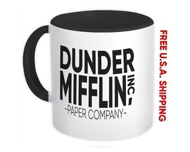 Dunder Mifflin Paper Company : Mug the Office Michael Scott Gift Funny N... - $13.37+