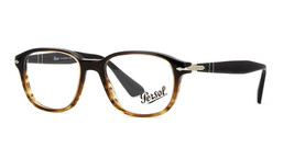 Authentic Persol Eyeglasses PO3145V 1026 Striped Brown Frames 51MM Rx-ABLE - $75.23