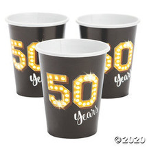 50 Milestone Paper Cups - $11.48