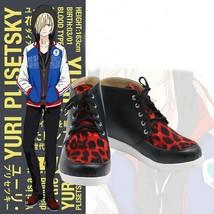 Yuri!!! on Ice Yuri Plisetsky Cosplay Shoes Buy - $68.00