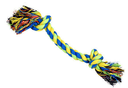 "Grain Valley 9"" 2-Knot Rope Toy - RopeToy"
