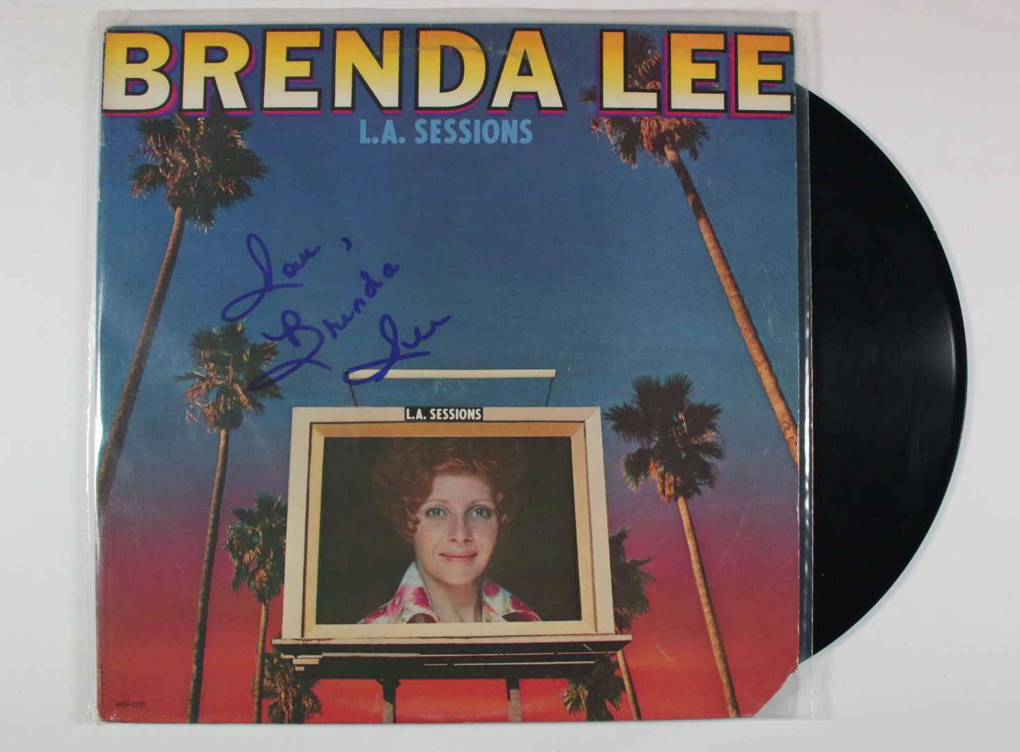 "Primary image for Brenda Lee Signed Autographed ""L.A. Sessions"" Record Album"