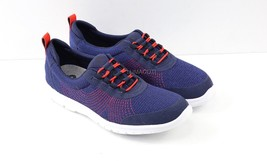 Womens Clarks Step AllenaBay Sneakers - Navy Textile Size 7 [261 37506] - $69.99