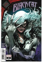 BLACK CAT #2  (MARVEL 2021) - $6.89