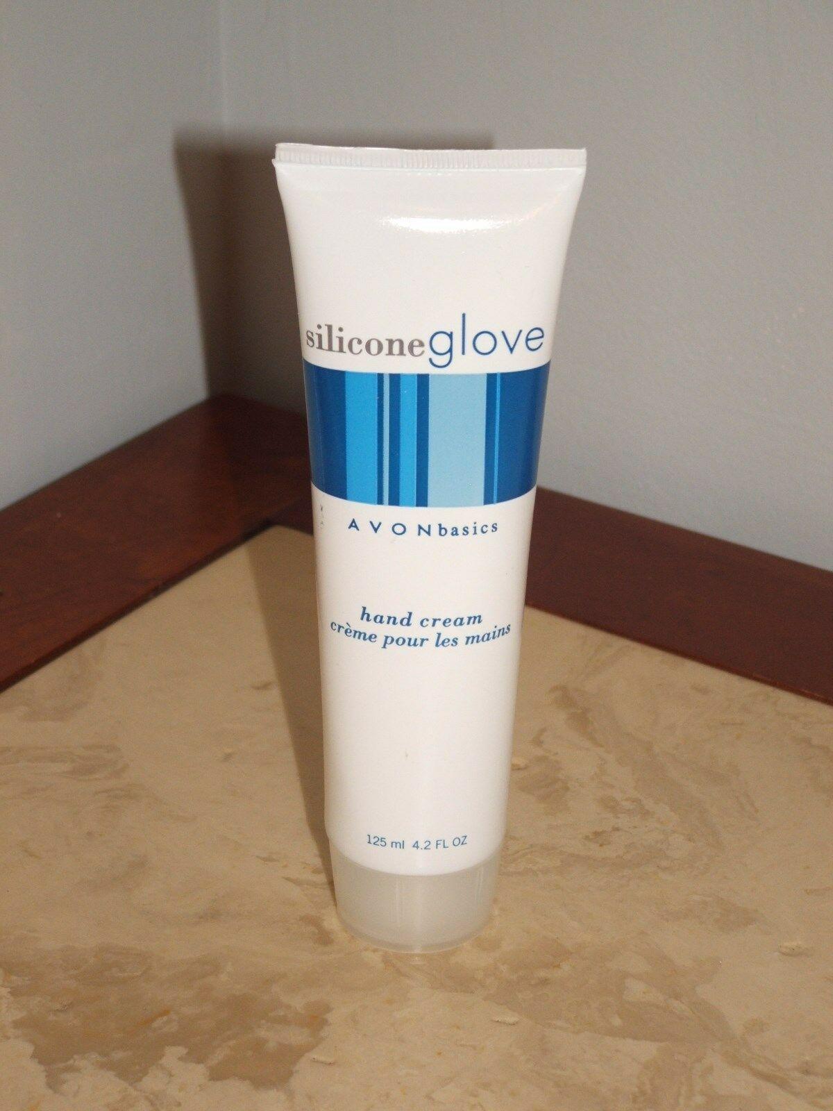 brand new unopened avon silacone glove hand cream