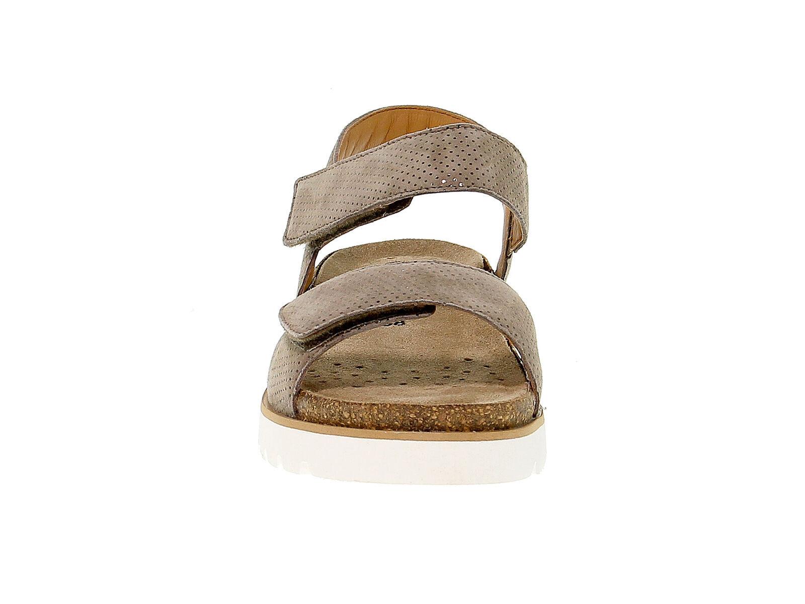 Sandalo basso MEPHISTO THELMA in nabuk cammello - Scarpe Donna