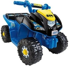 KidsBatmanLil' Quad Ride On Toy Easy Push-Button Operation 6-Volt Battery ATV - $182.28