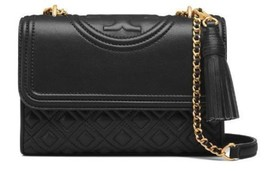 Tory Burch Fleming small Convertible Shoulder Bag Black Color for Woman NWT - $214.10