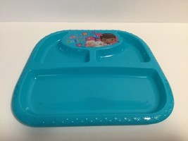 """All Better Helper 9.45"""" x NEW Plate Divided Disney tray Plate BLue Plastic - $6.79"""