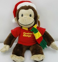 Toy Network Curious George Plush Holiday Monkey (With Tag) - $28.01