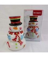 Pier 1 Imports Ceramic Stacking Snowman Measuring Cups - $19.34