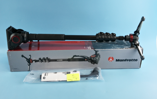 Primary image for Manfrotto MVMXPRO500US XPRO Aluminum Video Monopod w/ Video Head - Height 203 cm