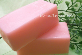 cotton candy glycerin soap sample - $2.00