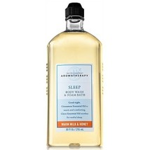 Bath & Body Works Aromatherapy Sleep Warm Milk & Honey Body Wash and Foa... - $50.00