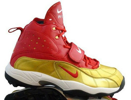 FSU Florida State RARE Nike Pro Shark Stove PF Football Size 14 Red/Gold - $43.20