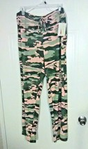 Bobbie Brooks Woman's Camouflage Print Sleep Pants - Elastic Waist - Siz... - $7.73