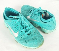 Nike Zoom FIT Agility Training Shoes 6 US 36.5 EU Aqua Turquoise Blue Sn... - $34.64