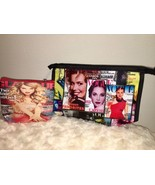 Vogue Magazine Zip Keychain Ladies Travel Makeup Lipstick Beauty Bag Pou... - $7.91