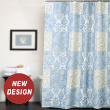 Fabric Polyester Rome Pattern Baroque Waterproof Shower Curtain Thicken Shower C - $28.04