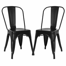 Poly and Bark Trattoria Side Chair in Black Set of 2 - $71.55
