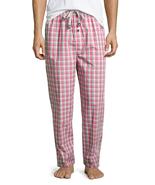 Psycho Bunny Men's Pink Plaid Lounge Pants, Large - $32.66