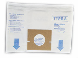 DVC Hoover Style S Micro Allergen Vacuum Cleaner Bags Made in USA [ 12 B... - $11.56