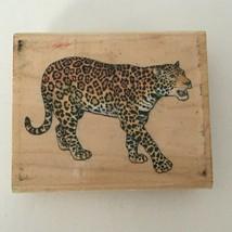 Rubber Stampede Stamp Jaguar Animal Safari Wildlife Nature Card Making A... - $8.99