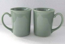 1970's Vintage Corning (2) Original Light Green Color Collectible Coffee Mugs, N - $29.99