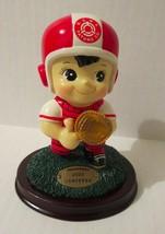 Tatung Boy Mascot Baseball Pitcher Figurine Mounted - $59.39