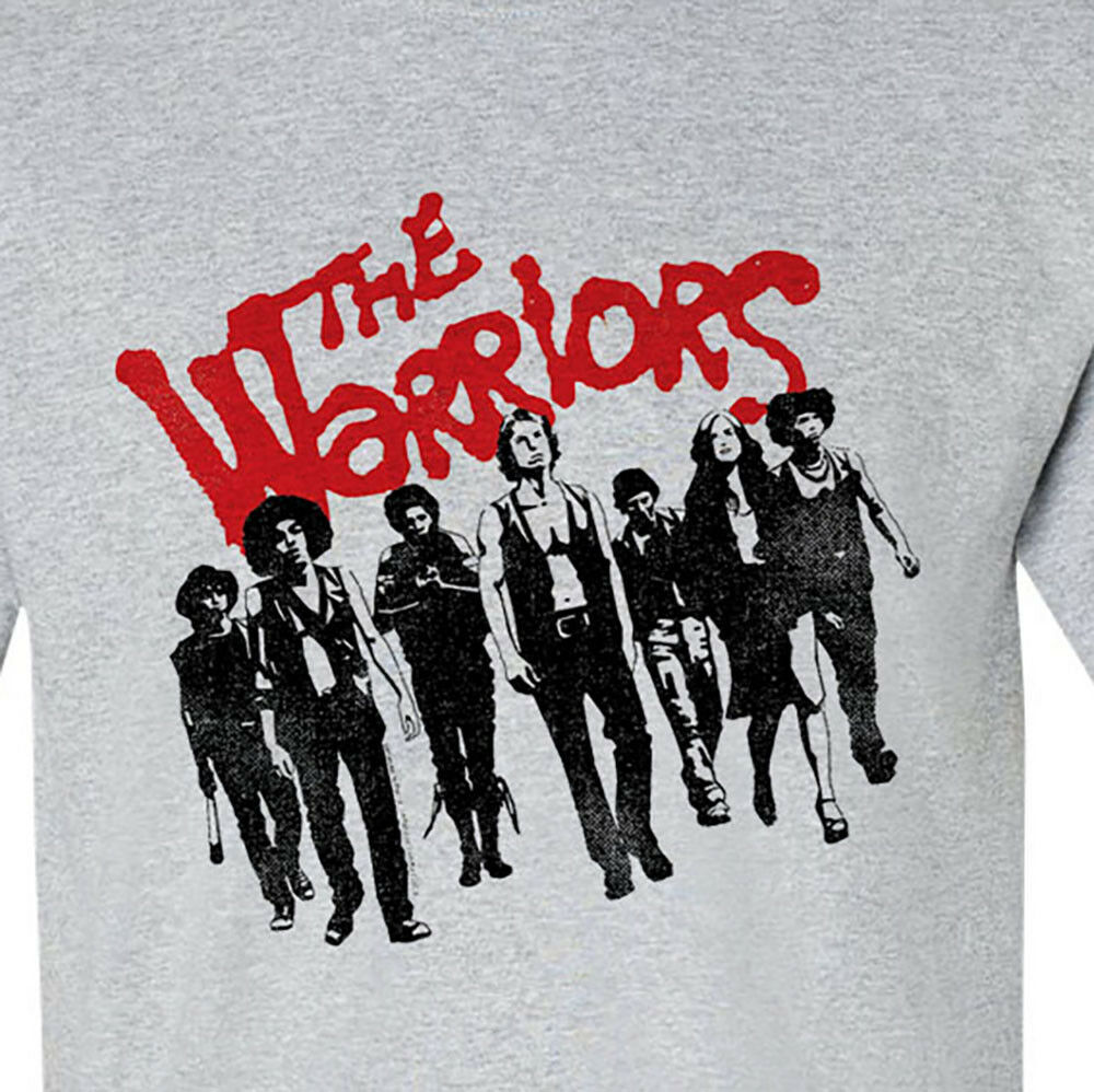 The Warriors T-shirt nostalgic cult classic film 70s retro style tee  PAR494