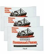 3 Fisherman's Friend Original Menthol & Eucalyptus Flavor Lozenges - $8.90