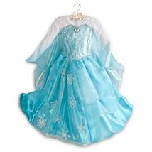 Disney Deluxe Elsa Princess Frozen Dress Costume 7 8 NWOT - $99.99