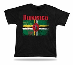 Dominica flag Tshirt T-shirt Tee top city map sisserou parrot wonderful ... - $7.57