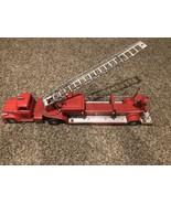 Vintage 1950's Tonka TFD Fire Truck No. 5 Hook & Ladder Toy - $297.00