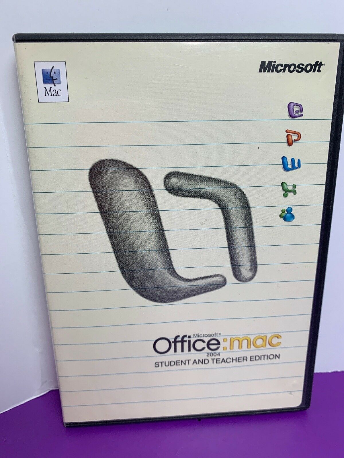 Microsoft Office 2004 Student & Teacher Edition (MAC) 3 User License for Mac