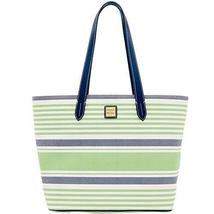Dooney & Bourke Westerly Large Zip Shopper (Green) - $199.00