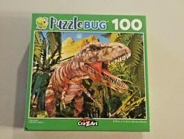 PuzzleBug Cra-Z-Art T-Rex Tyrannosaurus Dinosaur Jigsaw Puzzle 100 Piece... - $9.89