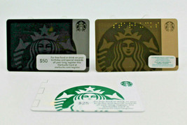 Starbucks Coffee 2015 Gift Card Siren Mermaid White Green Zero Balance S... - $12.77