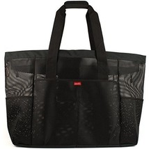 Oahu XXL Mesh Beach Bag Tote, Extra Heavy Duty with Zipper, 8 Large Pock... - $67.55 CAD