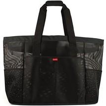 Oahu XXL Mesh Beach Bag Tote, Extra Heavy Duty with Zipper, 8 Large Pock... - $50.44