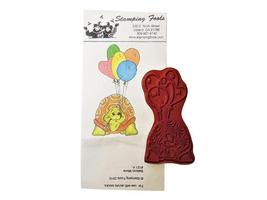 Stamping Fools Rubber Cling Stamp, Balloon Morie #121A