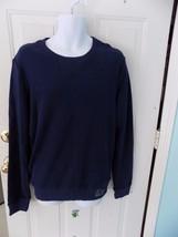 Aeropostale Navy Blue  Long Sleeve Crew Sweatshirt Size M Men's NEW - $22.50